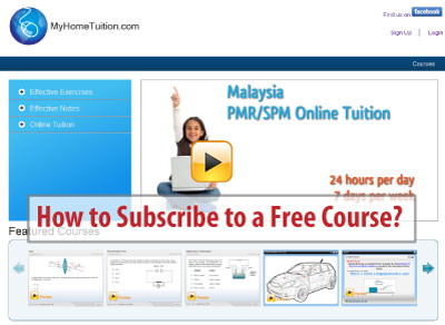 How to Subscribe to a Free Course - Presentation